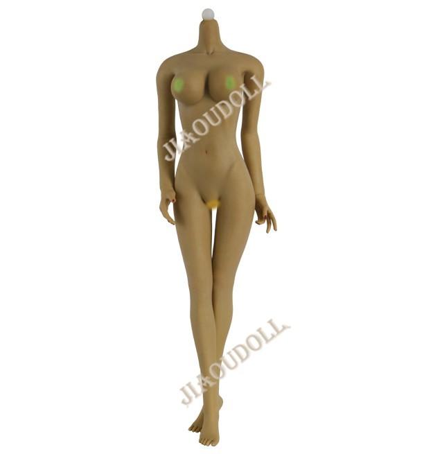 JIAOU DOLL 1//6th Female Tan JOQ-07F-YS Large Bust Seamless Figure Body Gifts